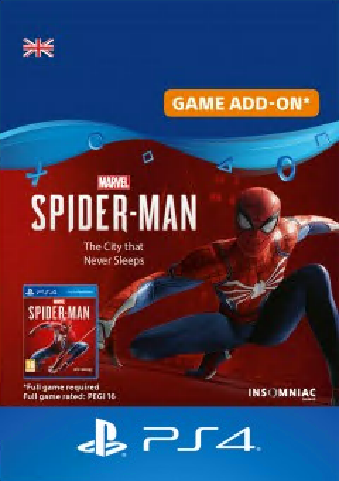 Marvels Spiderman The City That Never Sleeps PS4