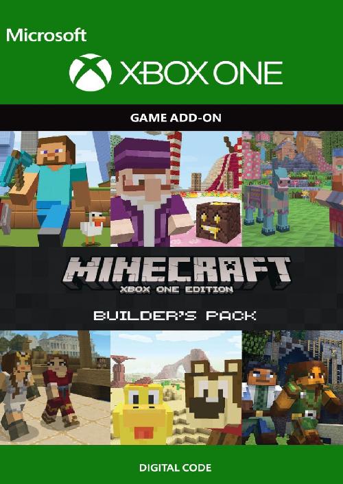 Minecraft Builder's Pack Xbox One key