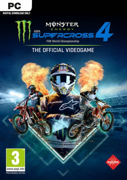 Monster Energy Supercross 4 Special Edition Xbox Series X