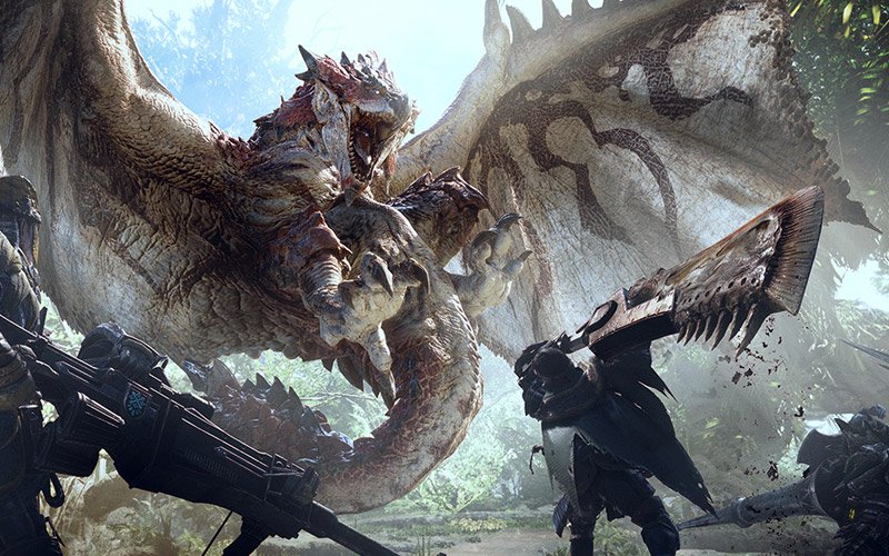 Monster Hunter World Deluxe Edition PC cheap key to download