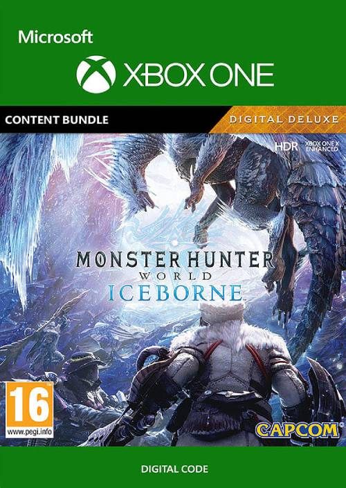 Monster Hunter World: Iceborne Deluxe Edition Xbox One key