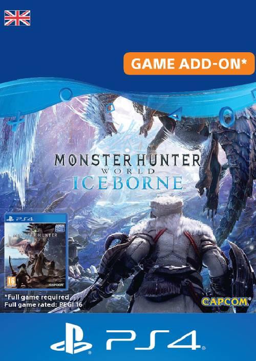 Monster Hunter World: Iceborne PS4 (UK) key
