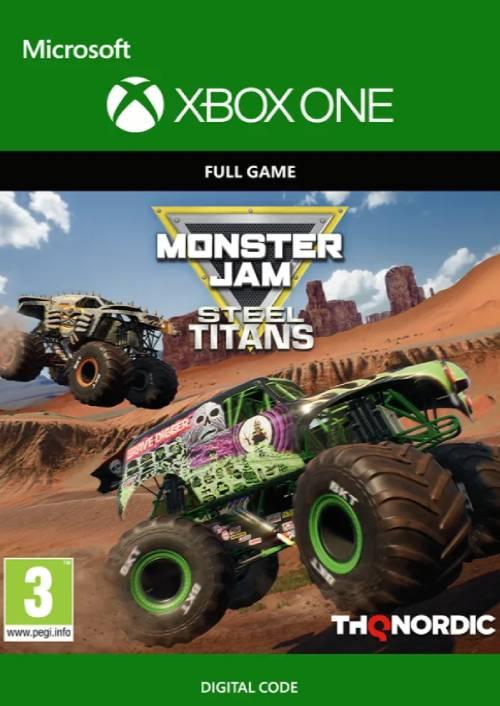 Monster Jam Steel Titans Xbox One key