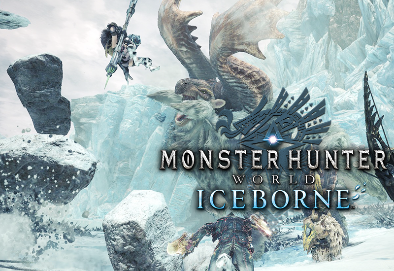 Monster Hunter World: Iceborne PS4 (UK) cheap key to download