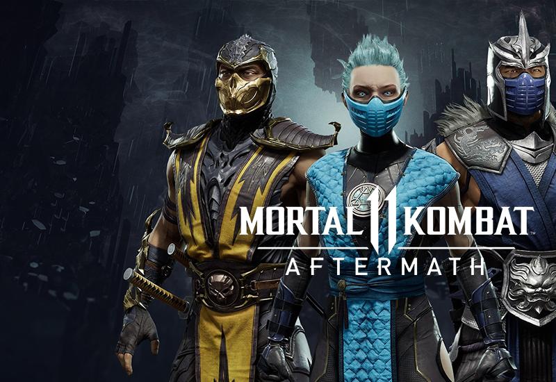 Mortal Kombat 11 Aftermath PC - DLC cheap key to download