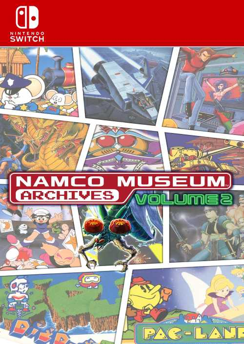 Namco Museum Archives Vol 2 Nintendo Switch