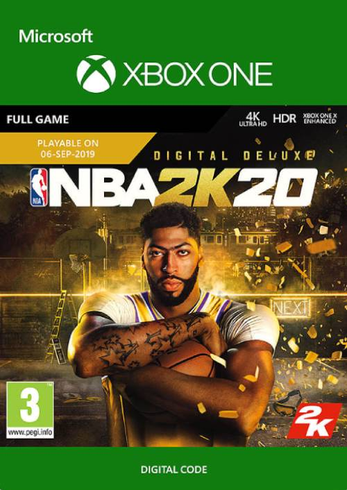 NBA 2K20: Deluxe Edition Xbox One key