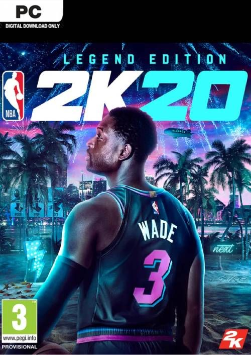 NBA 2K20 Legend Edition PC key