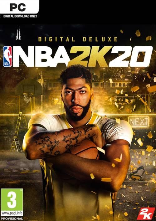 NBA 2K20 Deluxe Edition PC (EU) key