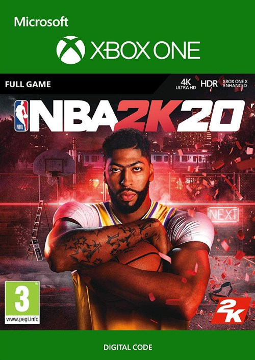 NBA 2K20 Xbox One key