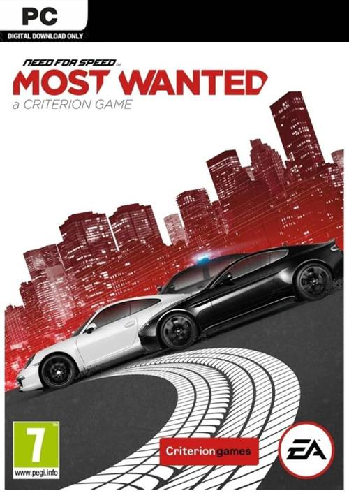 Need For Speed Most Wanted PC key