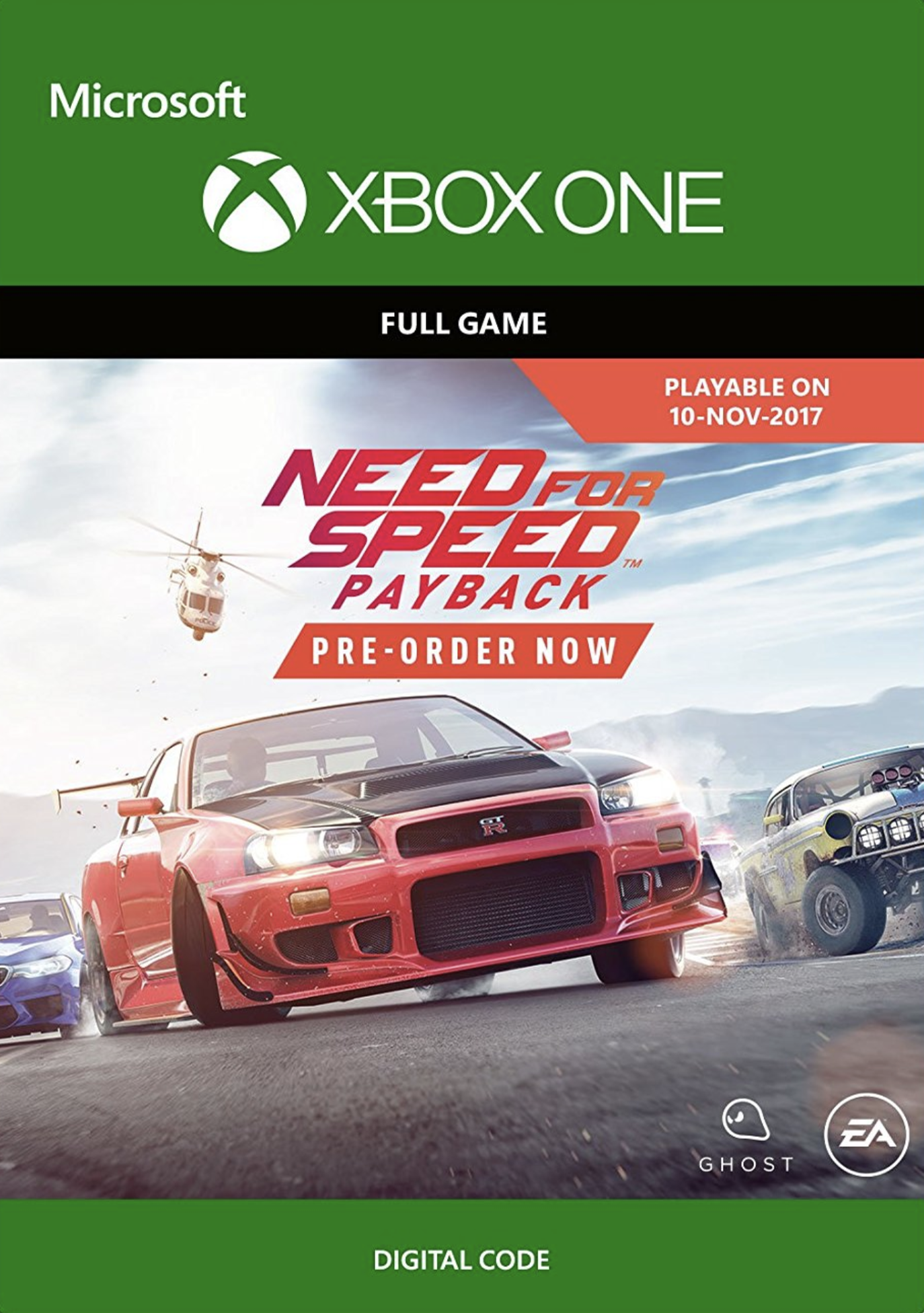 Need For Speed Payback Xbox One Cdkeys