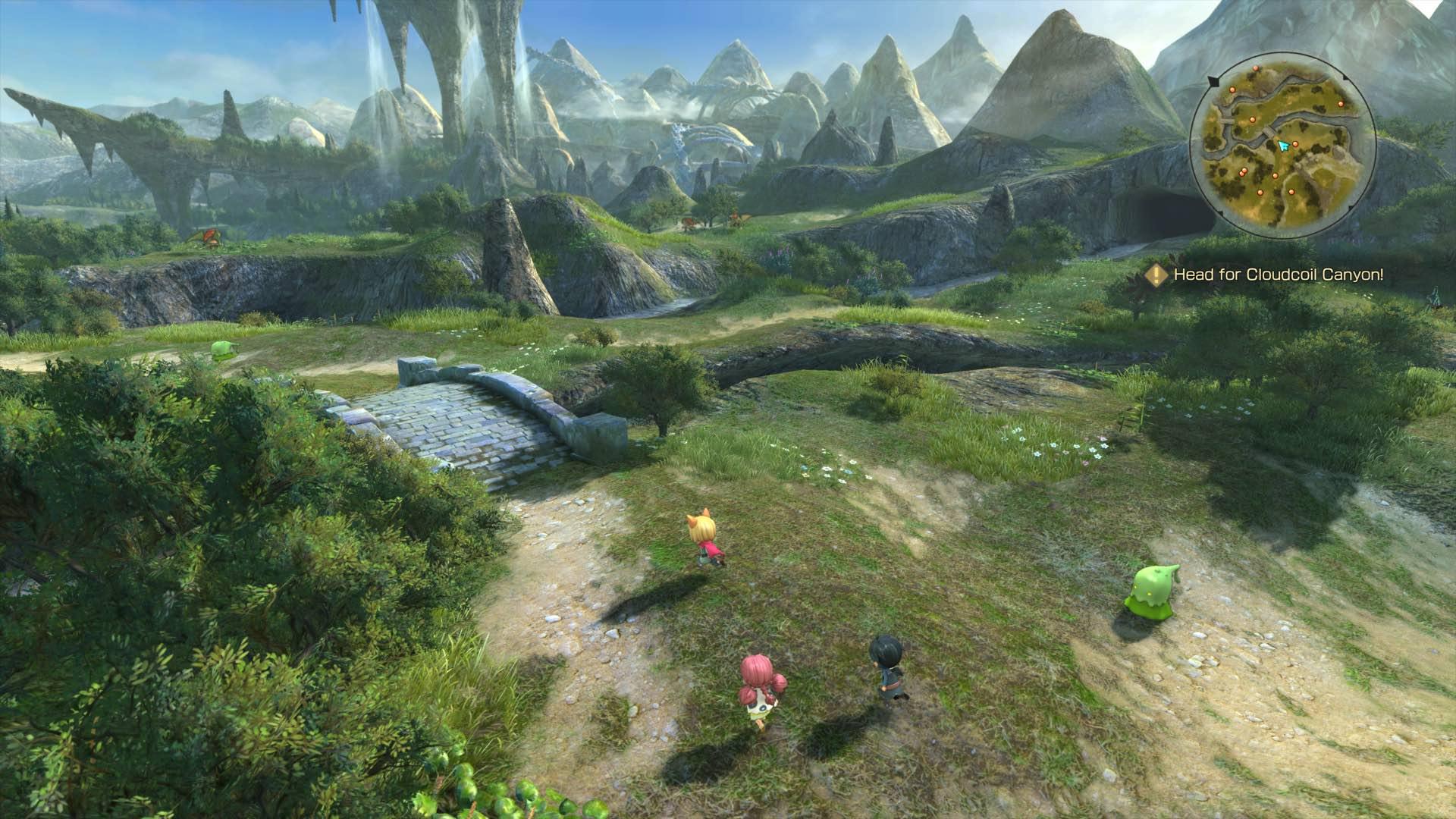 25 minutes of Ni No Kuni 2: Revenant Kingdom PC gameplay