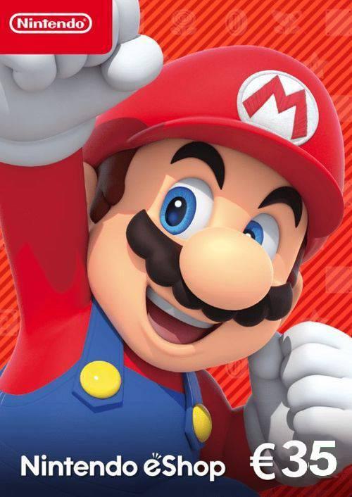 Nintendo eShop Card - €35 key