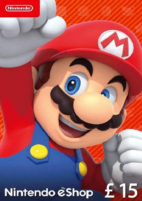 Nintendo eShop £15 card Nintendo 3DS/DS/Wii/Wii U key