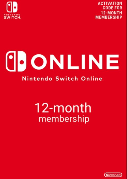 Nintendo Switch Online 12 Month (365 Day) Membership Switch (US) key