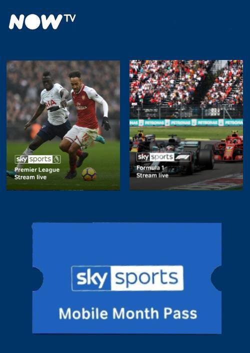 NOW TV - Sky Sports Mobile Month Pass key