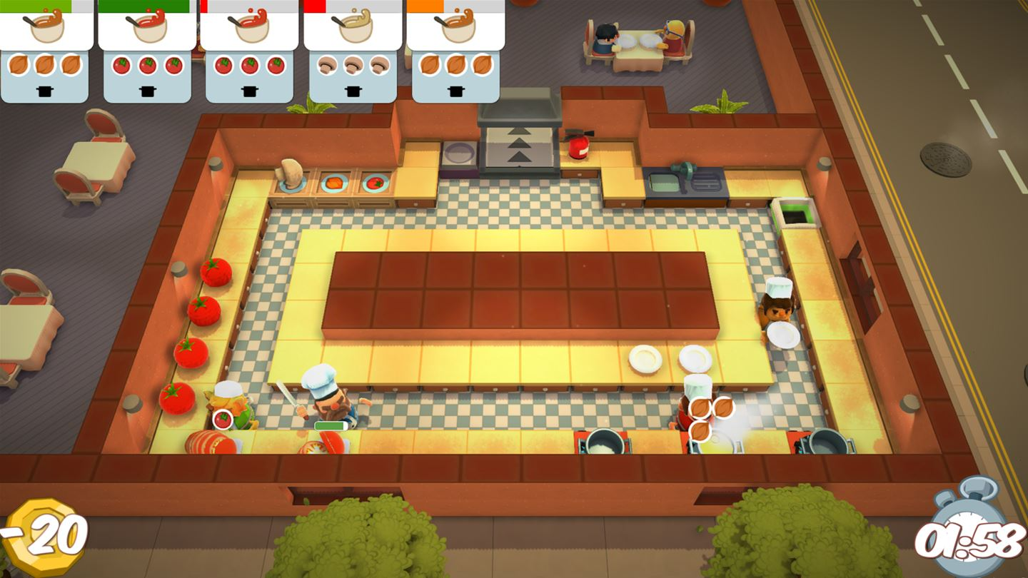 Overcooked Xbox One billig Schlüssel zum Download
