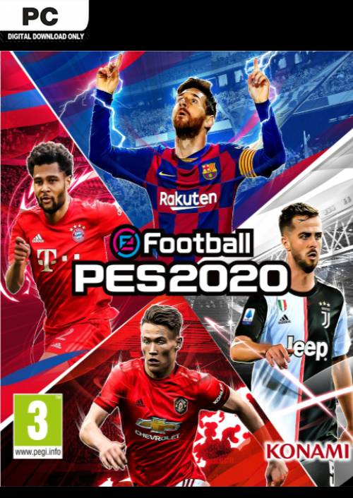 eFootball PES 2020 PC key