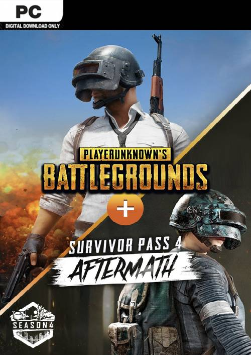 PlayerUnknown's Battlegrounds (PUBG) PC + Survivor Pass 4 Aftermath DLC key