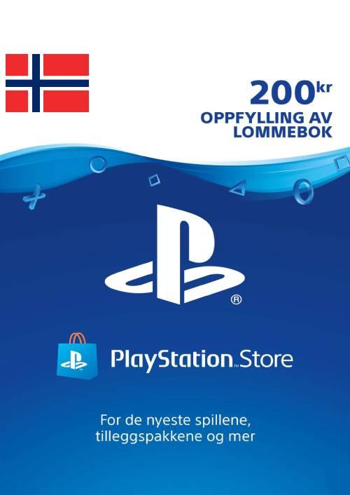 Playstation Network (PSN) Card 200 NOK (Norway) key