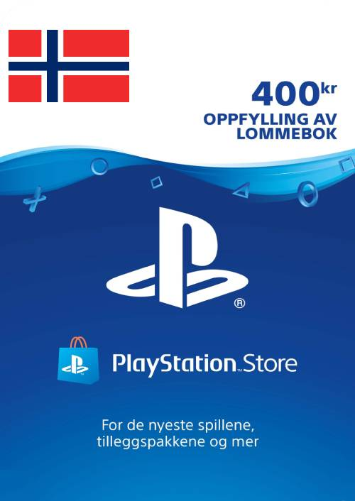Playstation Network (PSN) Card 400 NOK (Norway) key