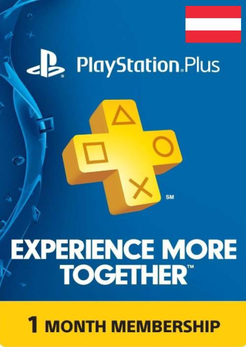 Playstation Plus Live Card 30 Tage PSN AT
