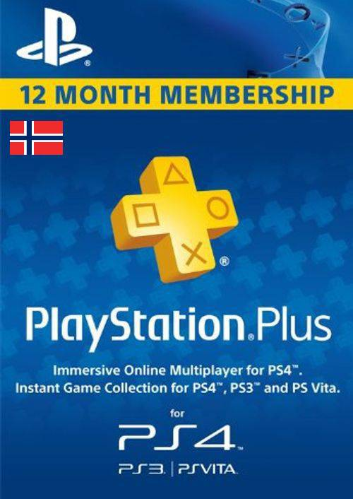 Playstation Plus - 12 Month Subscription (Norway) key