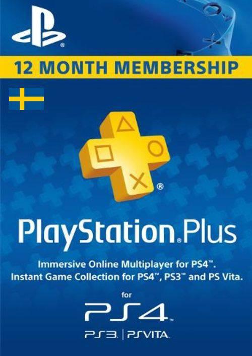 Playstation Plus - 12 Month Subscription (Sweden) key