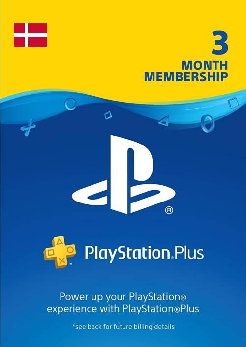 Playstation Plus - 3 Month Subscription (Denmark) key