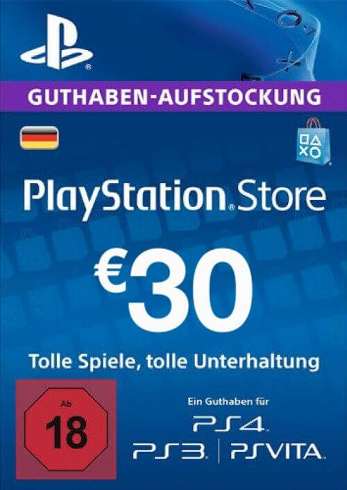 PlayStation Network Card 30 EUR
