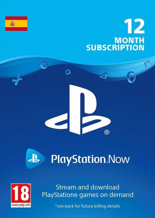 PlayStation Now 12 Month Subscription (Spain) key
