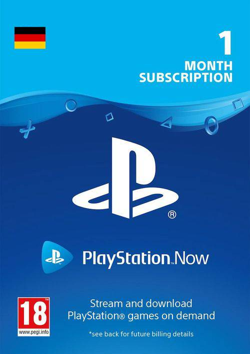 PlayStation Now 1 Month Subscription (Germany) key