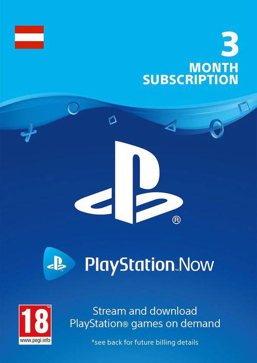 PlayStation Now 3 Month Subscription (Austria) key