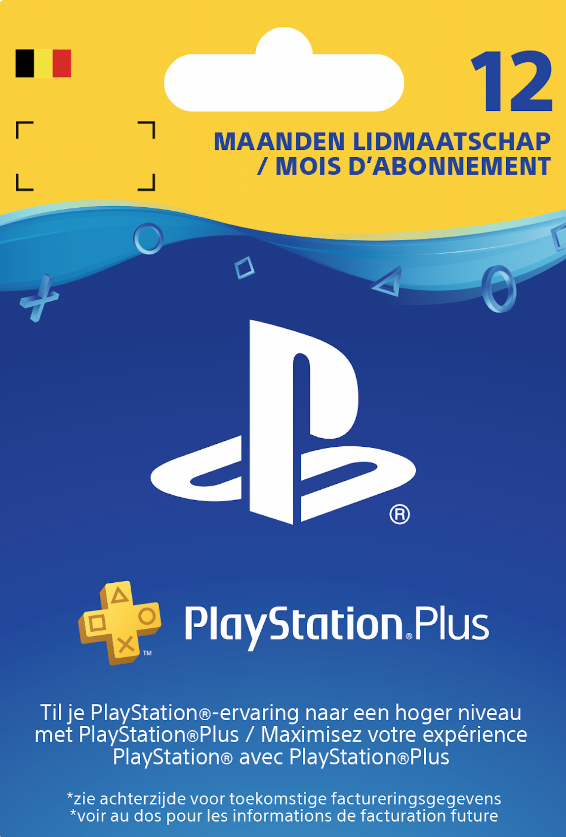 Playstation Plus (PS+) - 12 Month Subscription (Belgium) cheap key to download