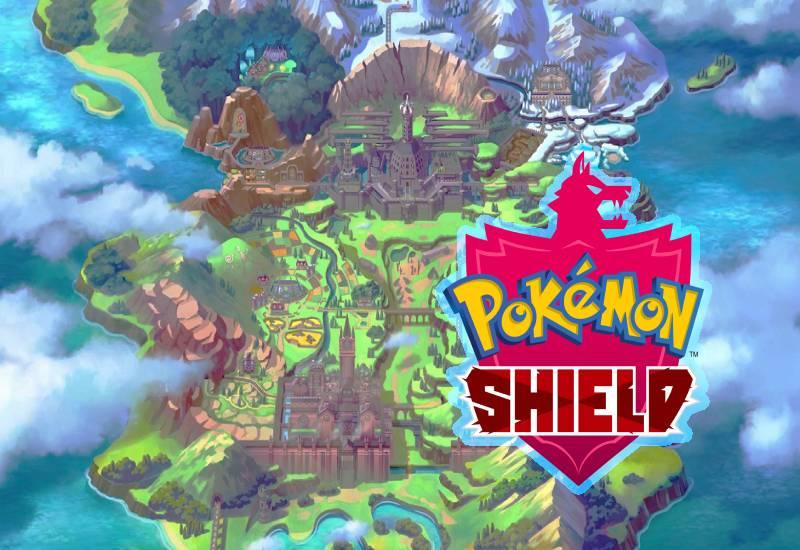 Pokémon Shield Switch cheap key to download