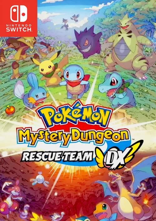 Pokémon Mystery Dungeon: Rescue Team DX Switch (EU) key