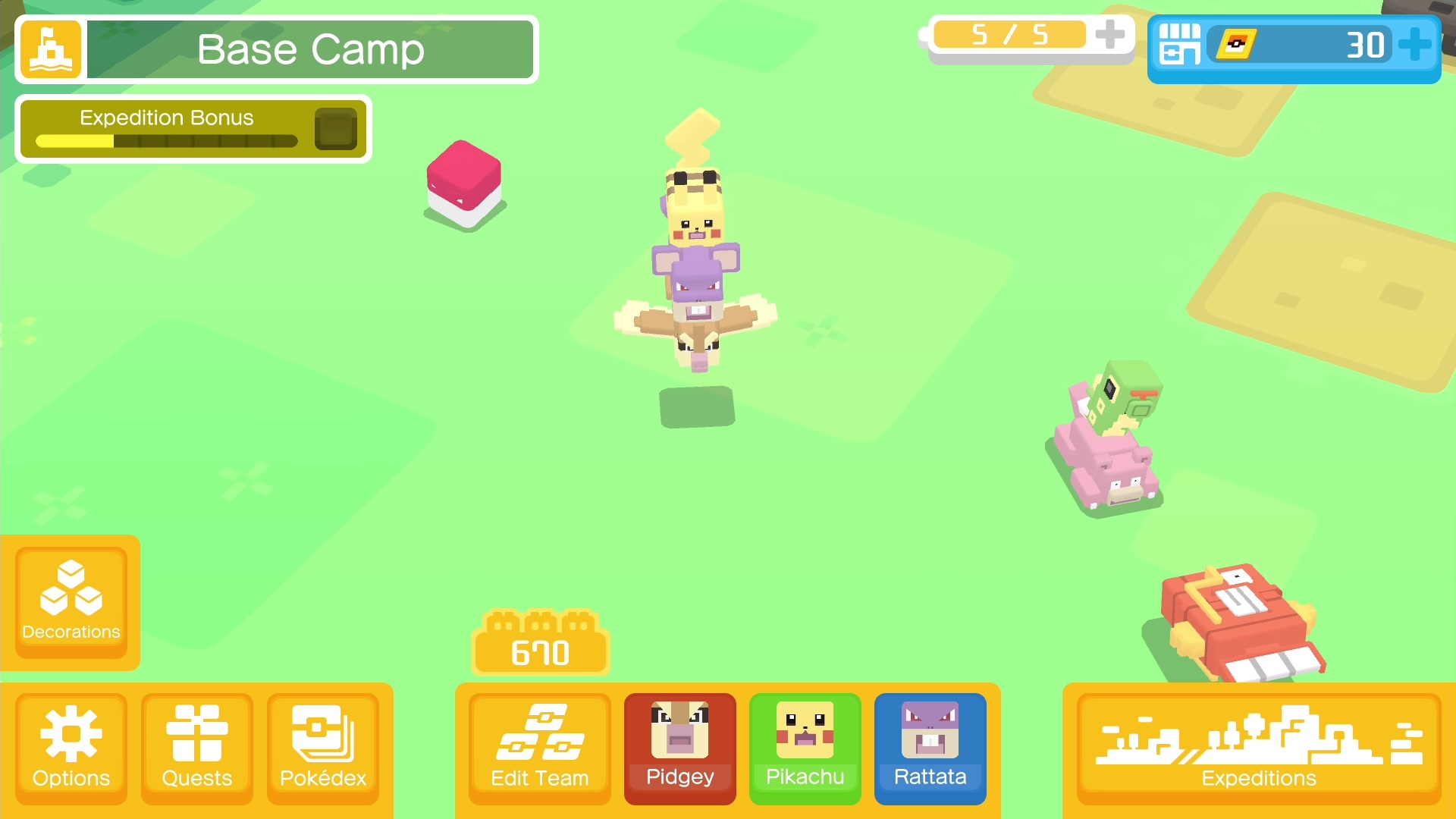 Pokemon Quest - Expedition Pack Switch cheap key to download