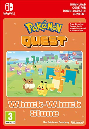 Pokemon Quest Whack-Whack Stone Nintendo Switch