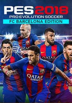 Pro Evolution Soccer (PES) 2018 - Barcelona Edition PC