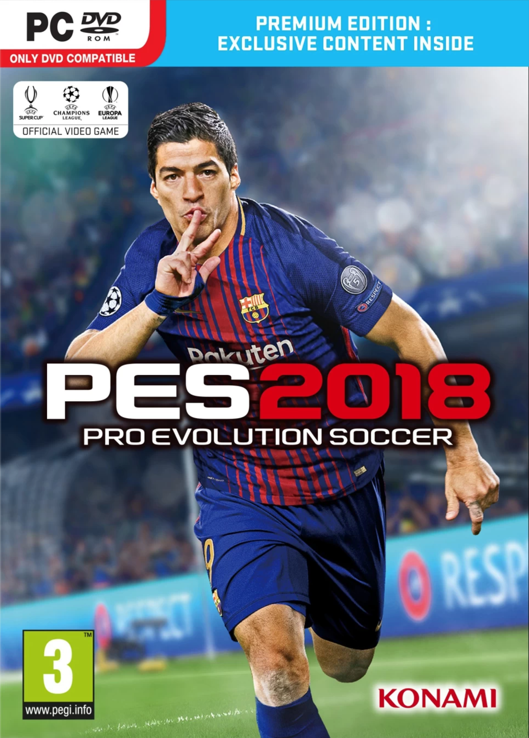Pro Evolution Soccer (PES) 2018 - Premium Edition PC
