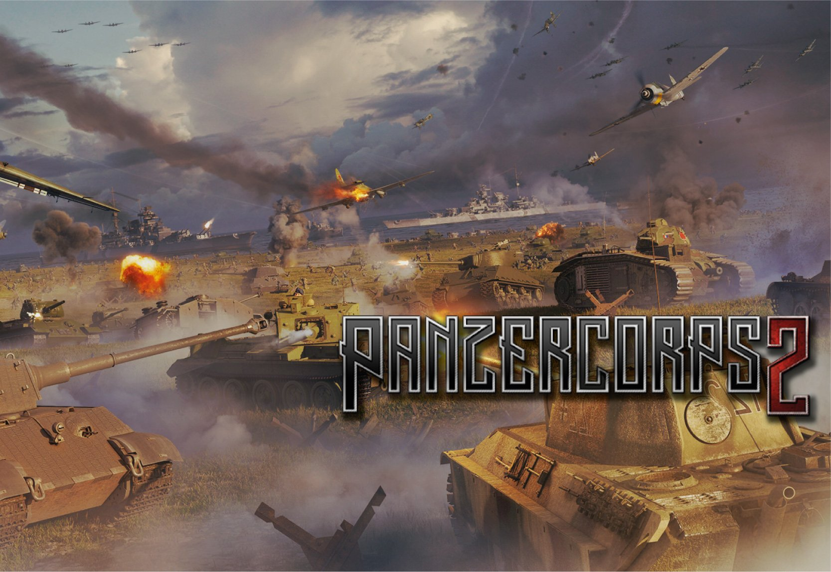 Panzer Corps 2 - Field Marshal Edition PC cheap key to download