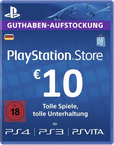 Playstation Network Card 10 EUR PSN