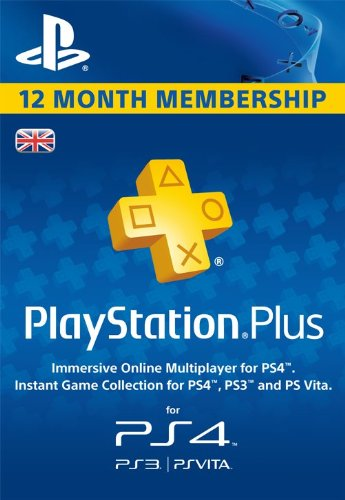 Playstation Plus Live Card 365 Tage PSN