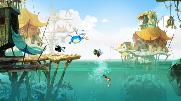 Rayman Origins PC cheap key to download