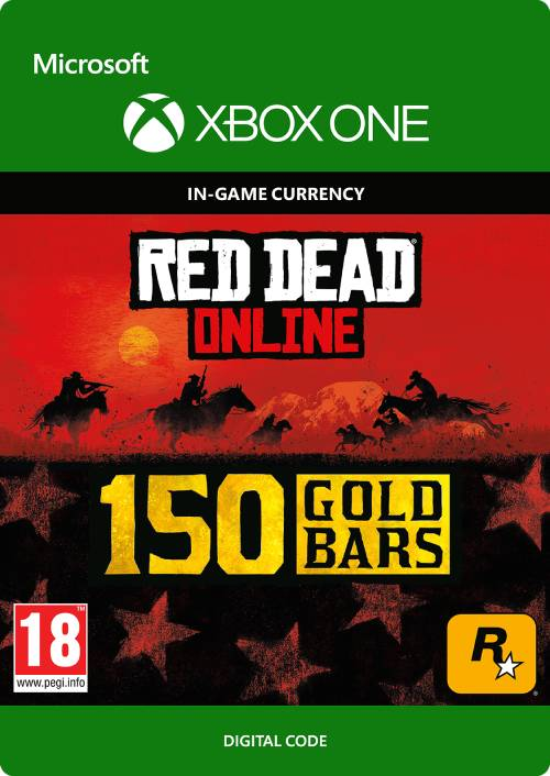Red Dead Online: 150 Gold Bars Xbox One key