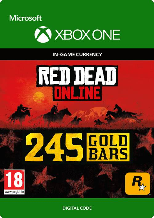 Red Dead Online: 245 Gold Bars Xbox One key
