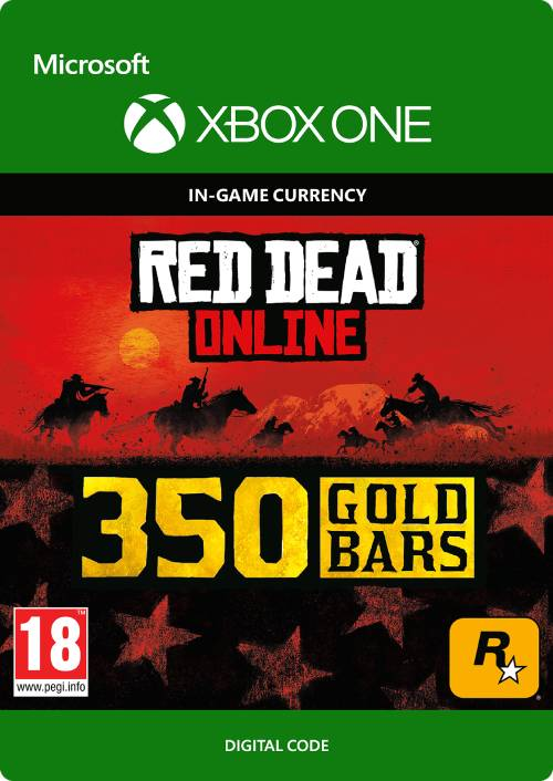 Red Dead Online: 350 Gold Bars Xbox One key