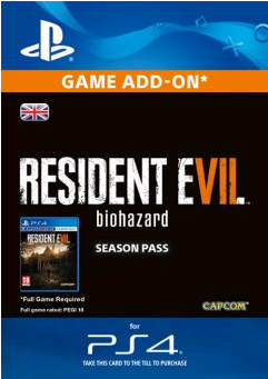 Resident Evil 7 Biohazard Season Pass PS4