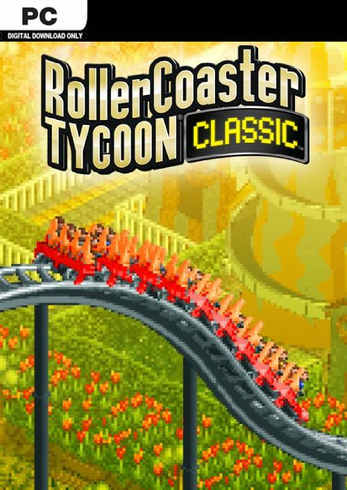 Rollercoaster Tycoon Classic PC key